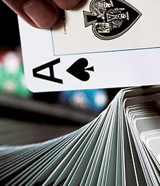 Test your fate in the Single Deck Blackjack