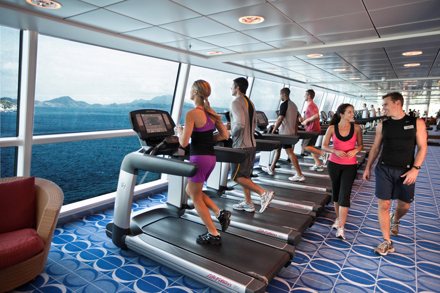 fitness in Celebrity Cruises