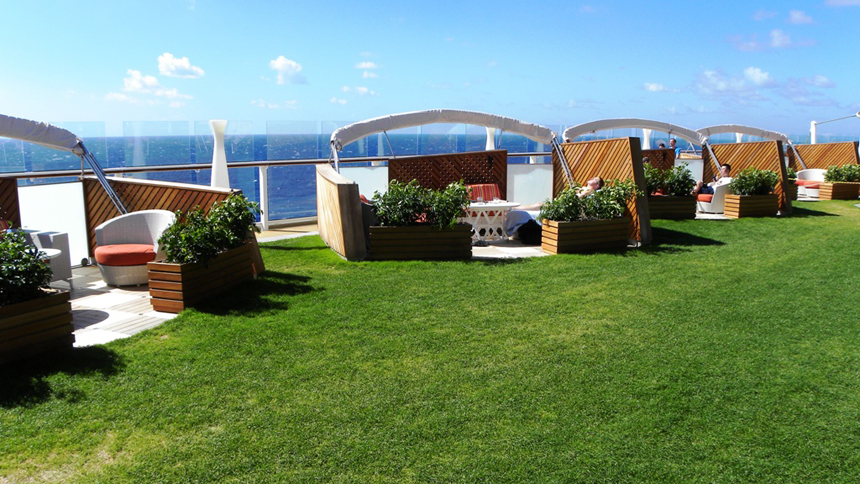 Lawn Club in Celebrity Cruises