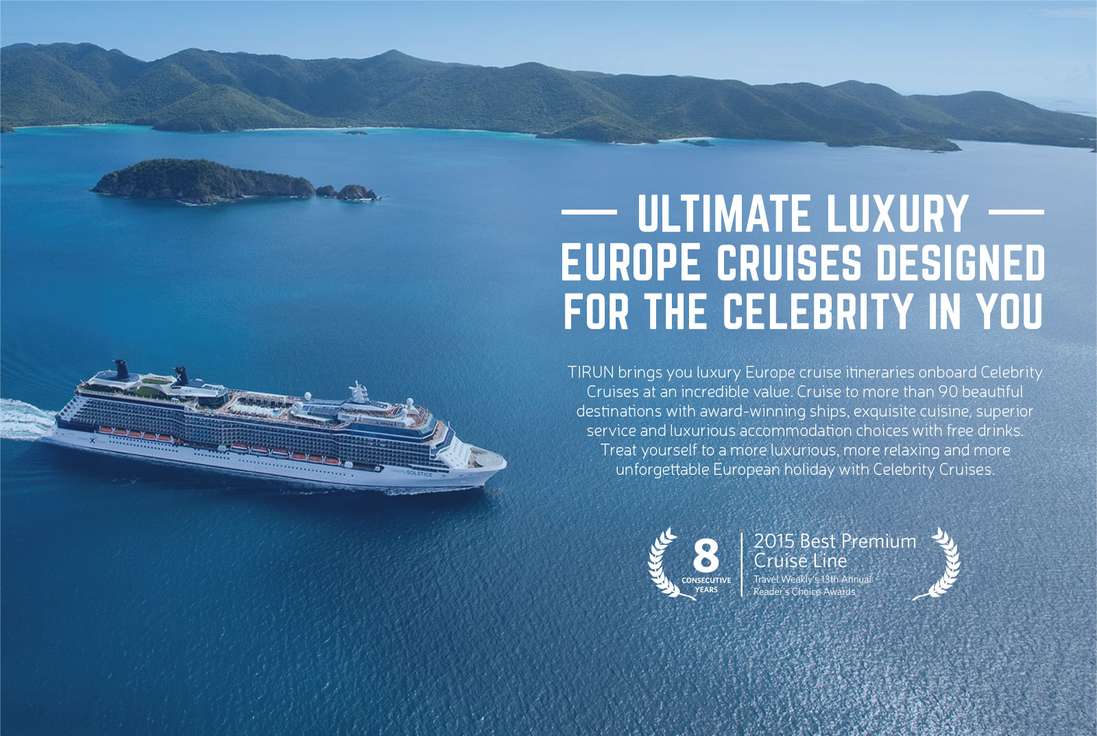 Cruise Vacation In Europe On Celebrity Cruises View Best - Celebrity eclipse cruise ship itinerary