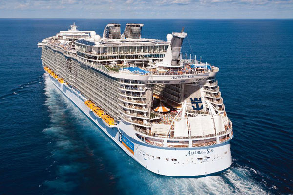 Allure Of The Seas World S Largest Ship Royal Caribbean