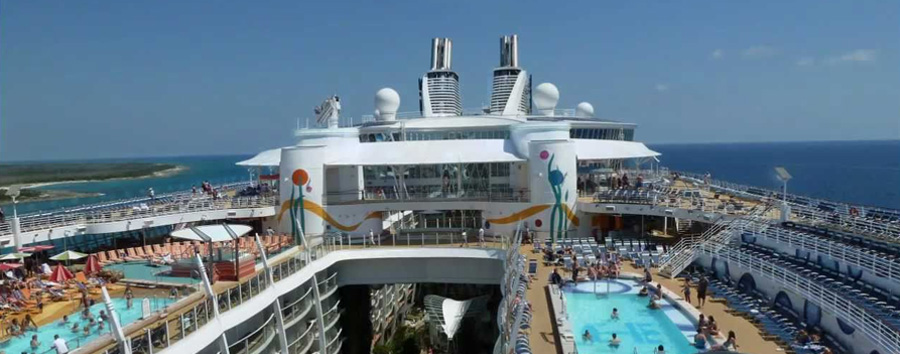 Allure of the Seas World's Largest Ship - Royal Caribbean ...