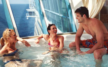 Rest and Relaxation on Independence of the Seas