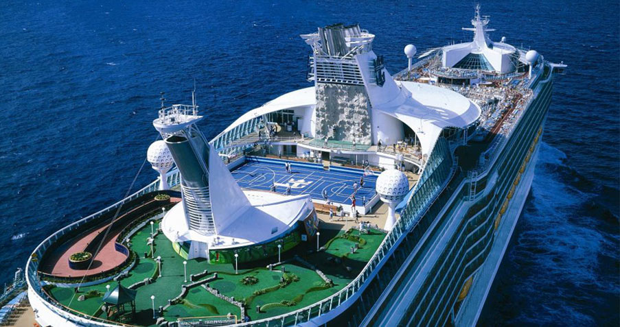 Sports Deck, Mariner of the Seas